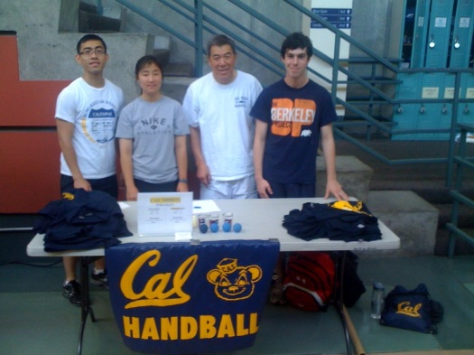Handball Tournament at Cal
