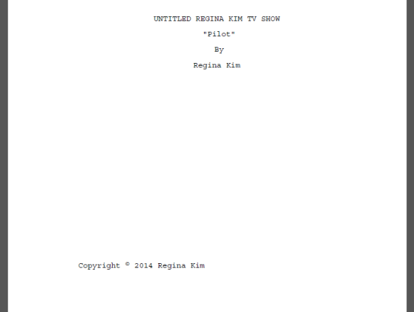 Pilot Episode Completed
