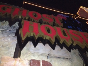 3D ghost movie ride