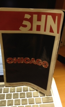 Chicago the musical program