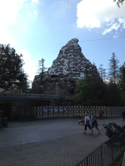 Matterhorn Bobsleds was closed :(